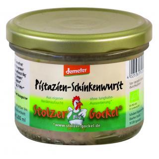 Schinkenwurst Pistazie 200g - regional