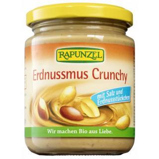 Erdnussmus Crunchy 250g RAP