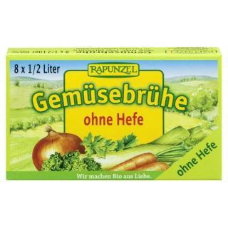Gemüse-Brühwürfel, o.Hefe, 80g RAP