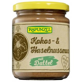 Kokos- & Haselnussmus mit Dattel 250g RAP