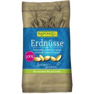 Erdnüsse geröstet, gesalzen 200g RAP