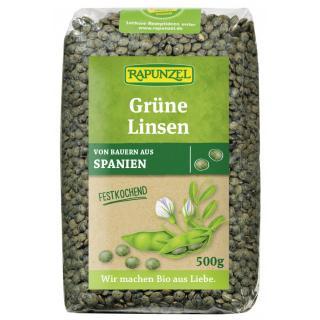 Grüne Linsen  500g RAP