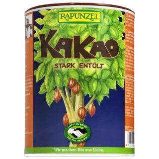 Kakaopulver, stark entölt  250g RAP