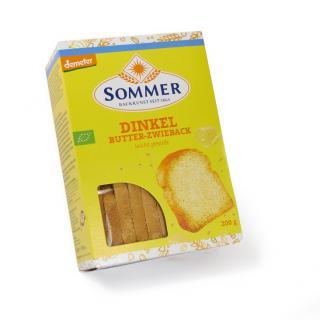Dinkel Butterzwieback 200g SOM