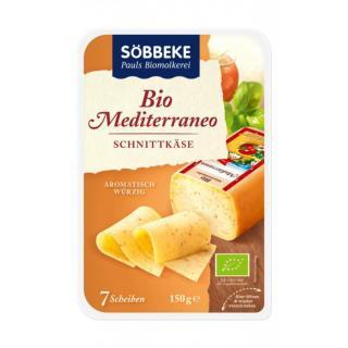 Käse Mediterranneo in Scheiben