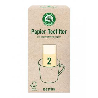 Papierteefilter Gr.2 100 St. LEB