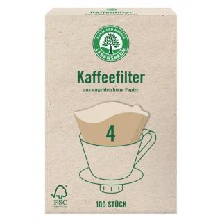 Kaffeefilter Gr.4 ungebleicht 100 St.