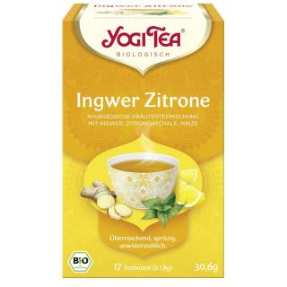 Yogi Tee Ingwer Zitrone Tee 17 Tb. YOG