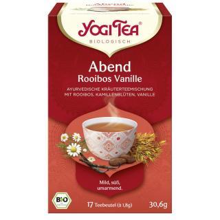 Abend Tee Rooibusch Vanille 17 Tb. YOG