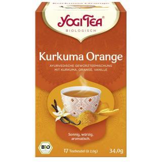 Yogi Tee Kurkuma Orange 17 Tb.