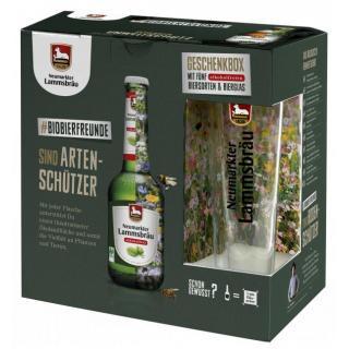 Lammsbräu Geschenkbox alkoholfrei mit Glas