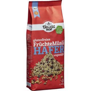 Hafermüsli Früchte 450g BAK glutenfrei