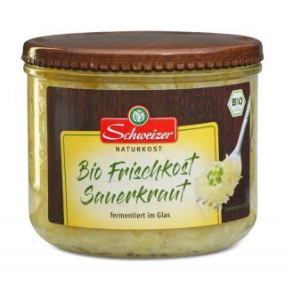 Sauerkraut frisch Glas 540ml SWZ