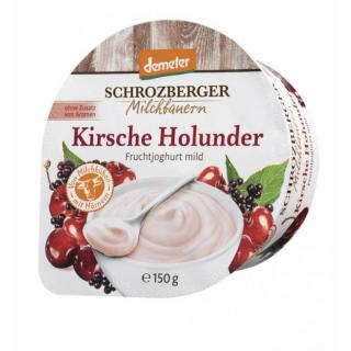150g DEM Jog. Kirsche-Holunder SBG