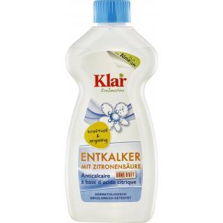 Entkalker m. Zitronensäure 0,5l KLAR