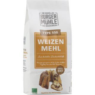 Typ550 Weizenmehl 1kg BUM