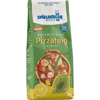 Backmischung Dinkel Pizzateig vegan 350g