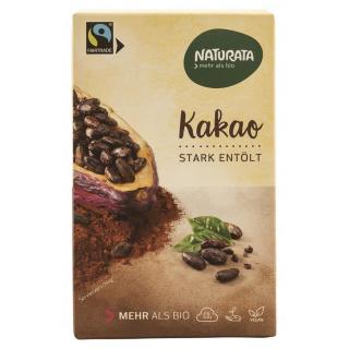Kakao, stark entölt, 125g NAT