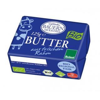 125g Butter Süßrahm UPL