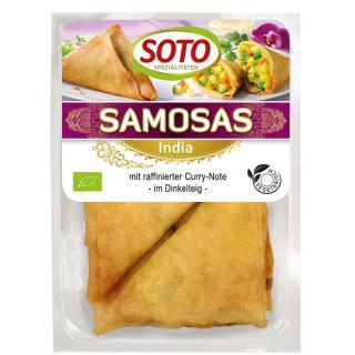 Samosas, ind. Gemüse-Ecken 250g