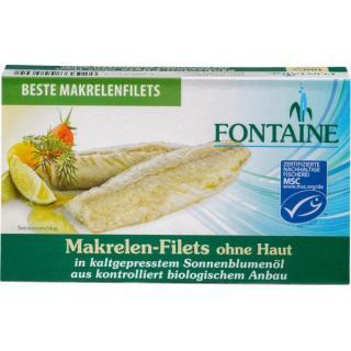 Makrelenfilet o.Haut+Gräten 120g FON