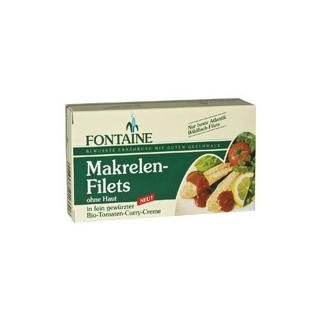 Makrelenfilets Tomatencreme 125g FON