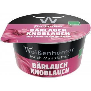 Frischcreme Bärlauch-Knoblauch 150g MWH