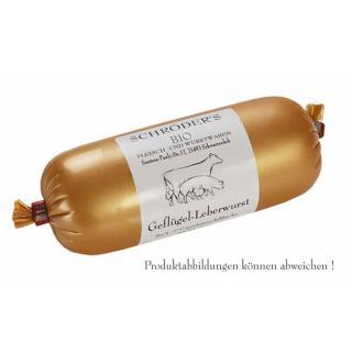 Geflügel Leberwurst ~120g SCHR