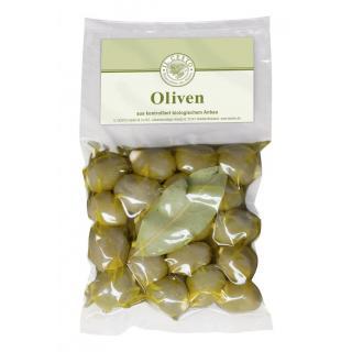 Oliven grün gef.Mandeln natur 175g ILC