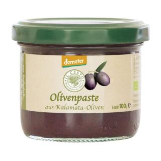 Griech. Olivenpaste schwarz 100g ILC