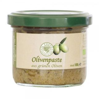 Griech. Olivenpaste grün 100g ILC