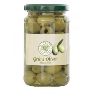 Griech.grüne Oliven o.Stein 315g ILC