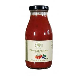 Tomatensauce m. Oliven & Kapern 250ml