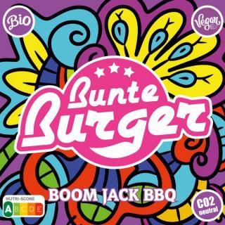 Boom Jack BBQ Burger vegan 125g