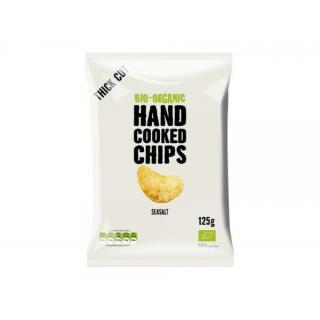 Handcooked Chips gesalzen 125g ADR
